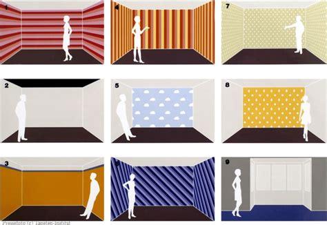 Tapeten Und Farben by Tapeten Und Farben Ver 228 Ndern Raumproportionen Gt Wohnen