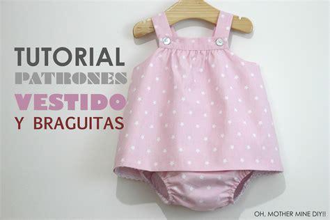 patrones y moldes de ropa gratis de vestidos de mujer para diy ropa beb 233 vestido y braguita patrones gratis youtube