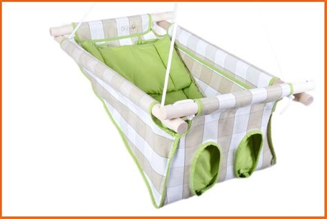 adf swing all natural linen baby hammock and swing babahinta