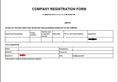 Company Registered Address Search Eregulations Kenya