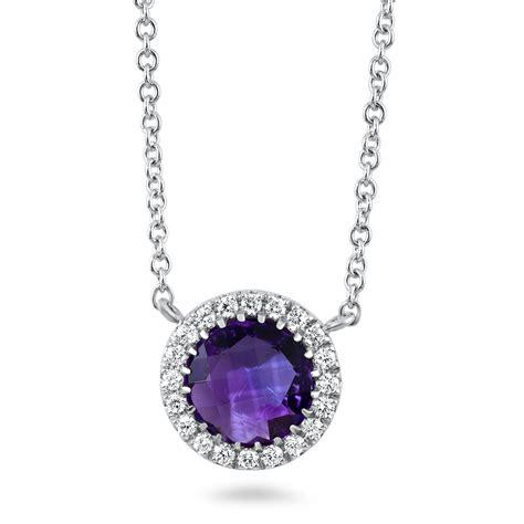 Diamant Halskette by 0 24 Carat Necklace Diamondland