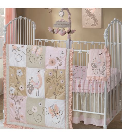 lambs and ivy bedding lambs ivy fawn 5 piece crib bedding set