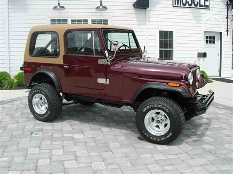 jeep cj 1978 jeep cj7 for sale classiccars com cc 998135