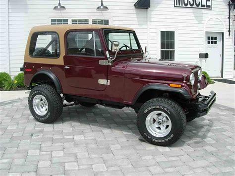 cj jeep 1978 jeep cj7 for sale classiccars com cc 998135