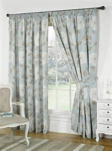 poppy lined curtains duckegg blue free uk delivery