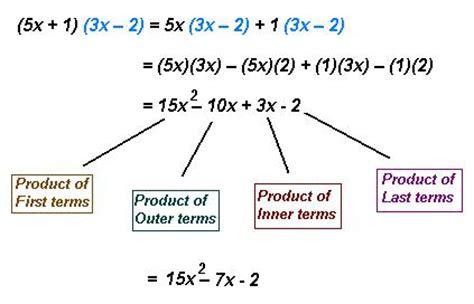 exle of foil foil method mathcaptain