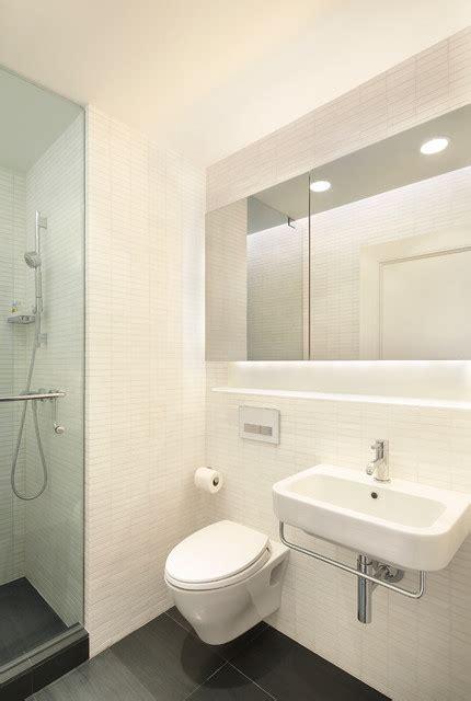 new york apartment bathrooms e90th st nyc prewar apartment renovation modern bathroom new york by