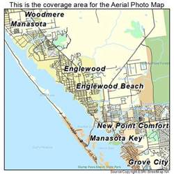 aerial photography map of englewood fl florida