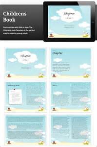 Childrens Book Template by 10 Creative Ibooks Author Templates Only 39 Mightydeals