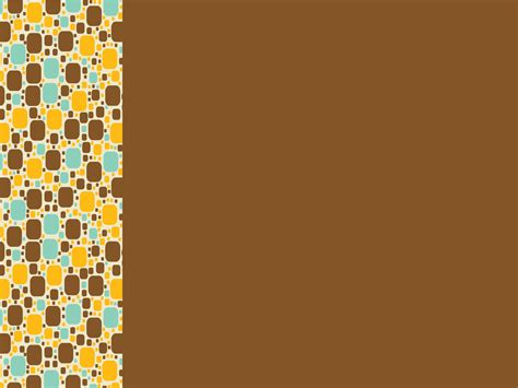 Wallpaper Flower Background Coklat brown powerpoint templates free ppt backgrounds and