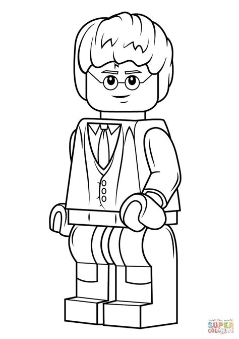 coloring pages harry potter lego 17 best images about mini figures lego on pinterest