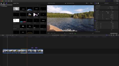 final cut pro editing software gopro editing software which video editors are best for