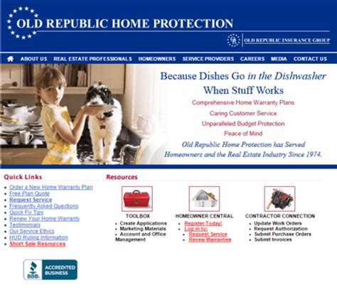 republic home warranty bbb home review