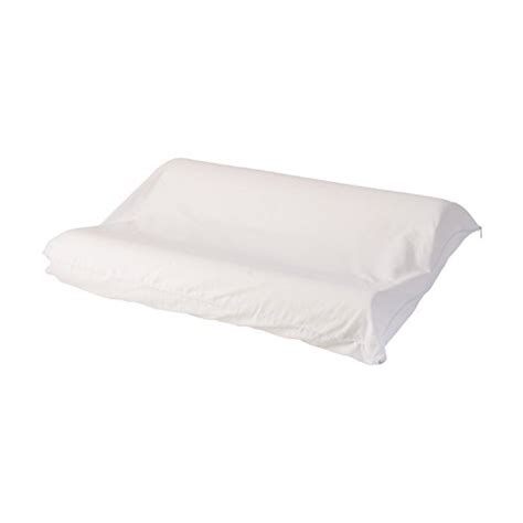 hypoallergenic bed pillows dmi hypoallergenic contour foam 3 zone bed pillow neck