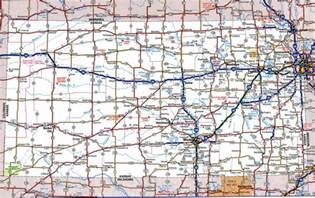 us map kansas state kansas state highway