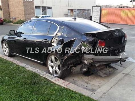 lexus truck 2007 2007 lexus gs 350 parts cars trucks black black left