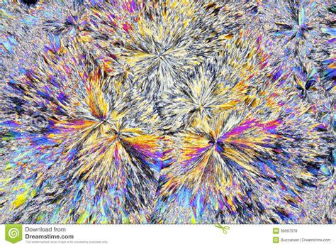 polarized light stock photos polarized light stock microscopic view of citric acid crystals in polarized