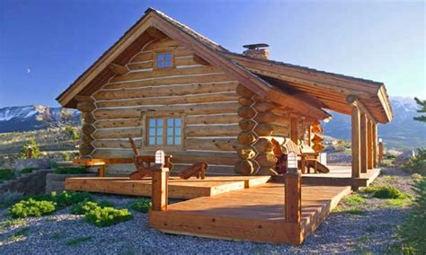 Small Log Cabin Homes Plans Small Rustic Log Cabins Small Mountain Log House Plans