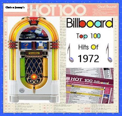 billboard top 100 house music chris jenny s billboard top 100 hits of 1972 singsnap karaoke