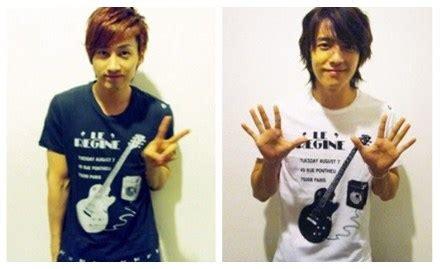 Kaos I Am I Am Eunhyuk eunhyuk dan donghae dengan barang kembar mereka korean
