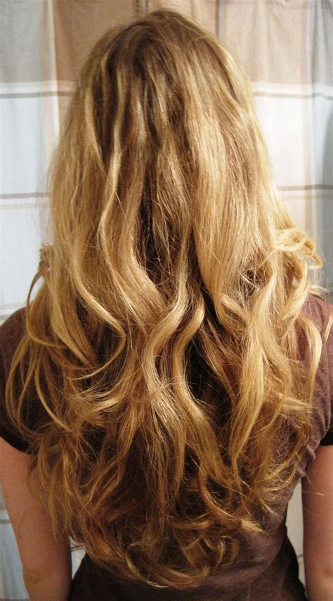 beach wave perms for long hair loose perm before and after google search style
