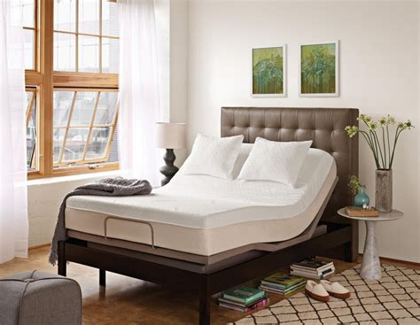 tempur pedic tempur ergo collection ergo plus adjustable base king