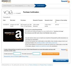 Amazon Gift Card For Less - get a 25 amazon gift card for 22 or less via voila hotel rewards program ren 233 s