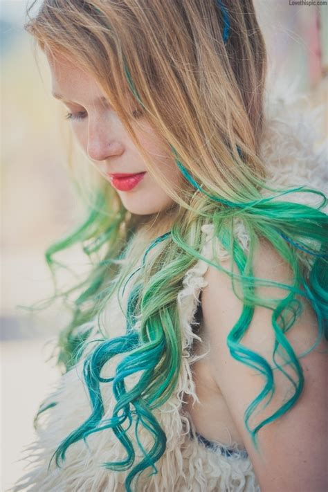 pretty colored hair pictures photos and images for