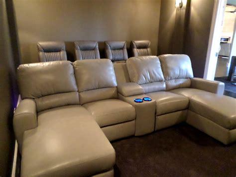 palliser theater seating  media sofa gorgeous room