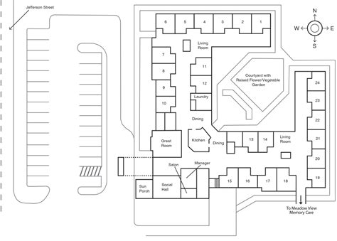 senior housing floor plans senior housing floor plans gurus floor