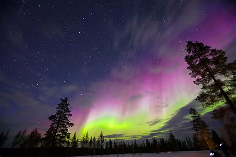 lapland finland northern lights 3 places where to experience the northern lights in autumn