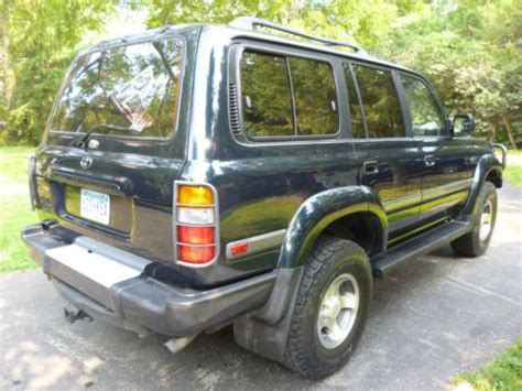 1997 Toyota Land Cruiser 40th Anniversary Edition Find Used 1997 Toyota Land Cruiser 40th Anniversary