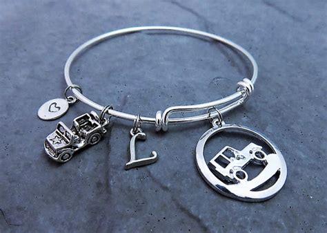 Jeep Jewelry Jeep Charm Bracelet Jeep Jewelry Expandable Bracelet