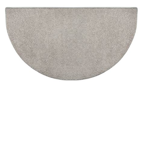 Goods Of The Woods Hearth Rugs by Goods Of The Woods Grey Polyester Half Hearth