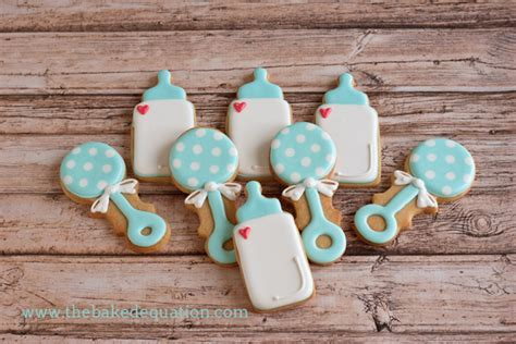 Order Baby Shower Cookies by Baby Shower Cookies The Baked Equation