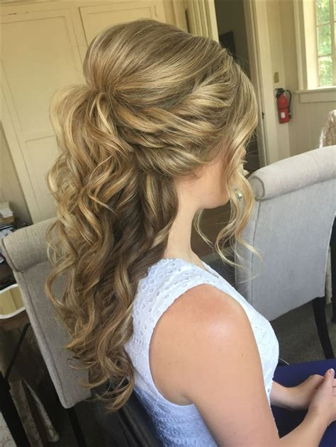 Half Up Half Hairstyles For Hair by Wedding Hairstyles Half Up Half Half Up Half
