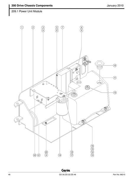 jlg 1930es scissor lift wiring diagram jlg parts