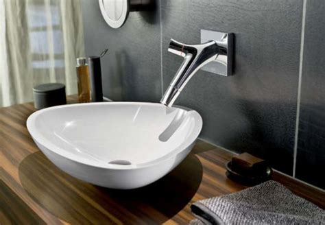 kitchen and bathroom fixtures axor starck organic washbasin faucets by hansgrohe