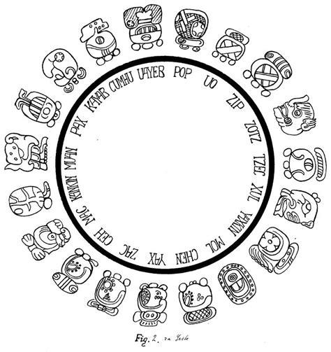 mayan calendar symbols and signs