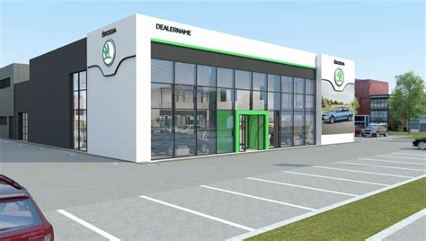 skoda car showroom skoda reveals plans to update dealerships across the world