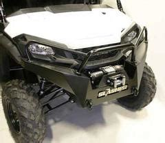slasher hd max front brush guard  honda pioneer