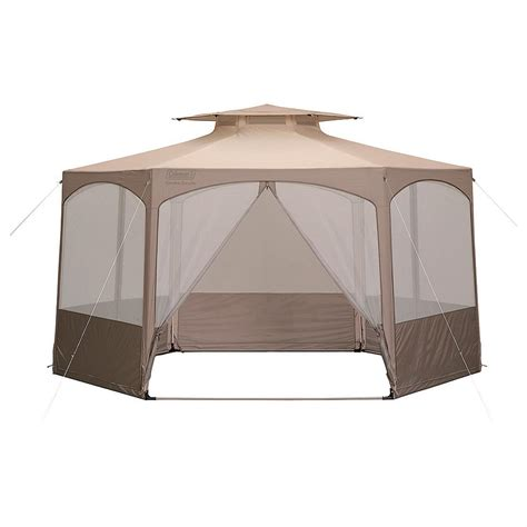 coleman gazebo coleman 174 garden gazebo 157532 screens canopies at