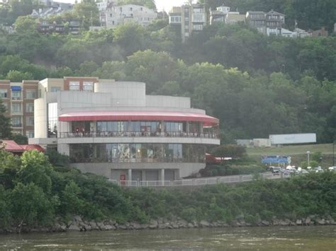 montgomery inn boat house view from the river picture of montgomery inn at the