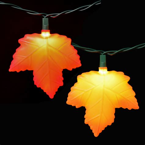leaf string lights fall leaf images gallery