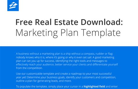 2017 Best Real Estate Business And Marketing Plans Roundup Real Estate Marketing Machine Real Estate Marketing Plan Template
