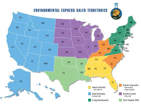 us map for sales territory sales territory map