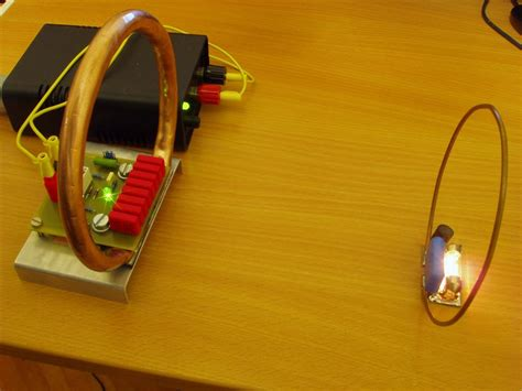 inductance wireless power miniature wireless power demonstrator marko s science site