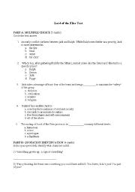 themes from lord of the flies worksheet answers english worksheets lord of the flies test