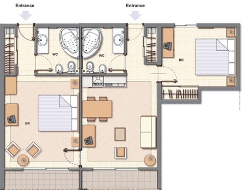 hotel room layout and design foundation dezin decor hotel room plans layouts