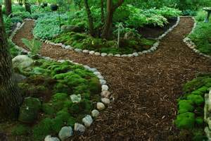 rotary botanical gardens hort blog making of a moss garden